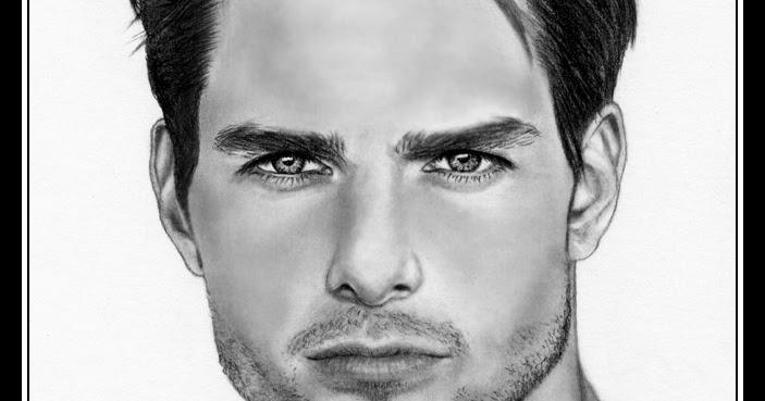 El Retrato Y Mi Lápiz: Tom Cruise Tom Cruise