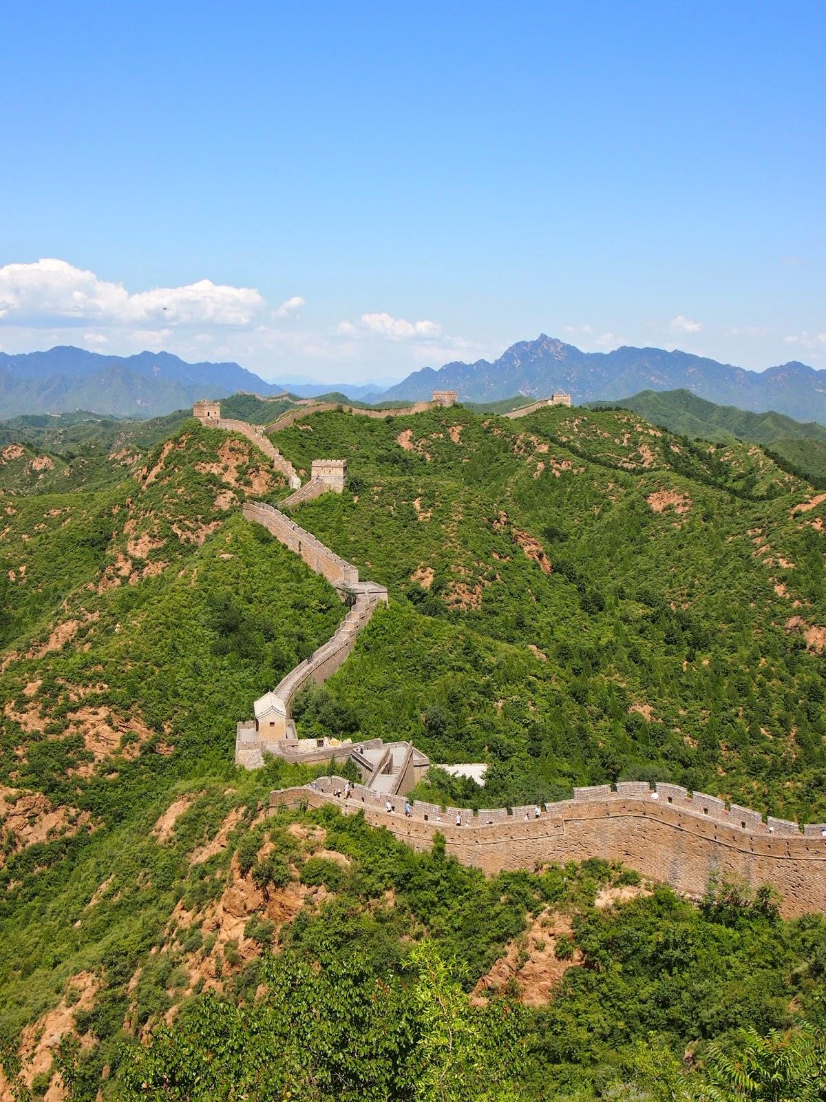 The Jinshaling Great Wall of China