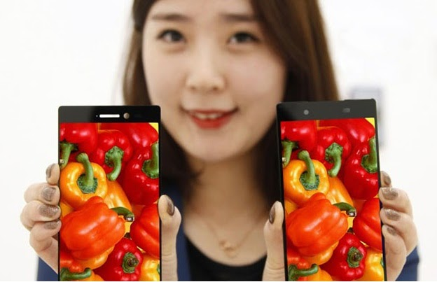 smartphone LG bezel layar tertipis