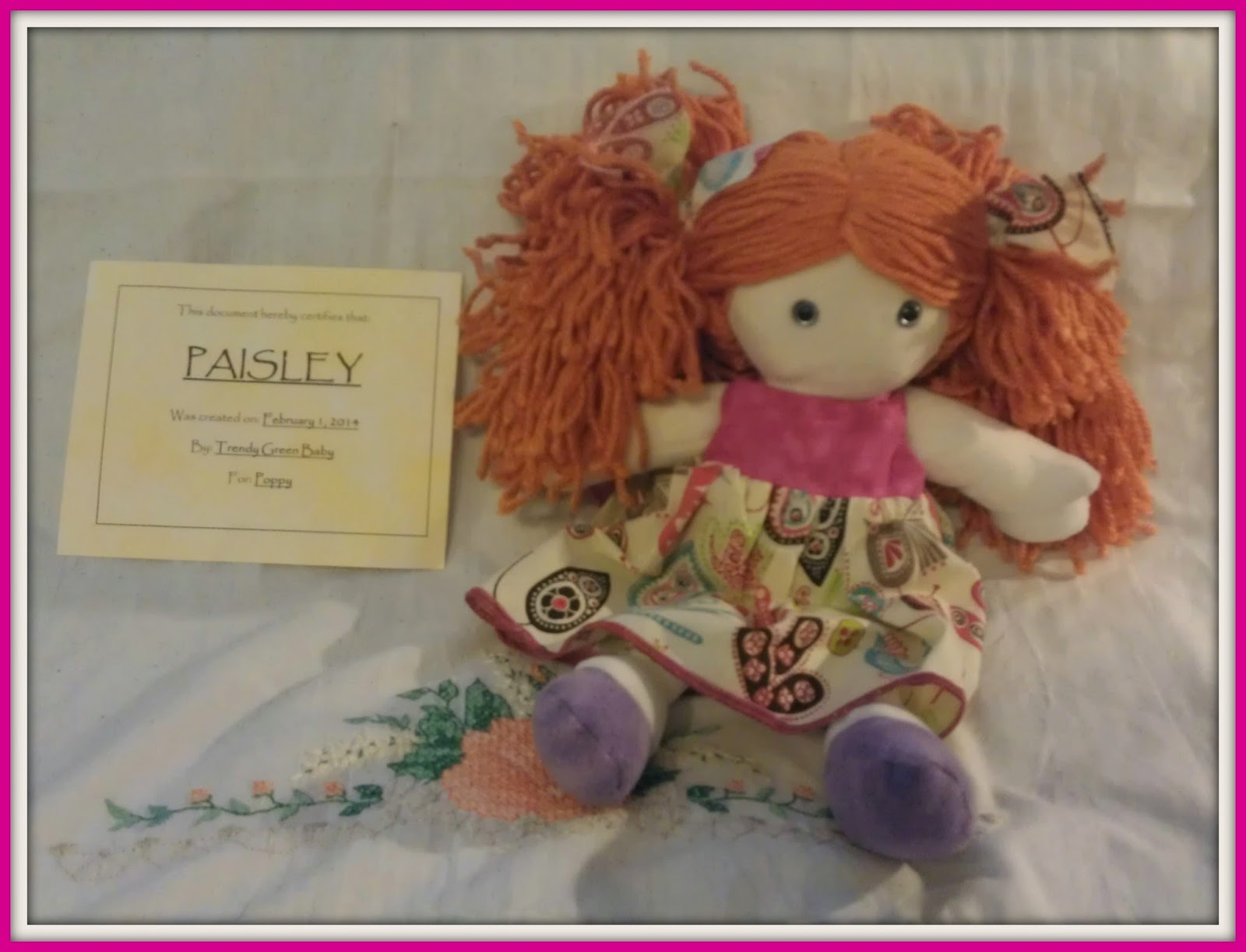 Waldorf Inspired Doll Giveaway