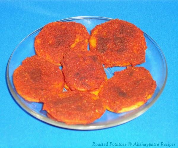 prepared batate phodi