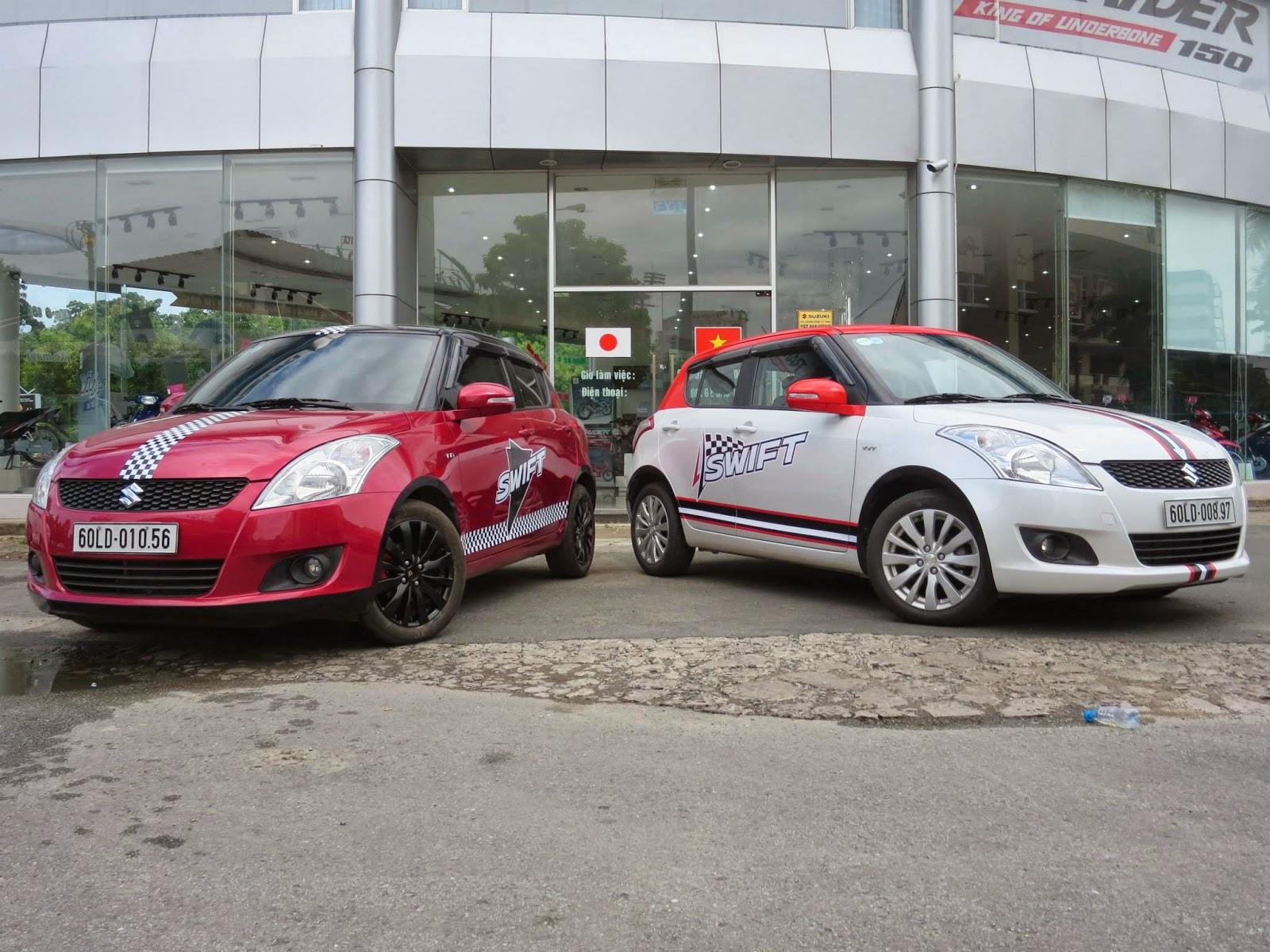 Suzuki Swift lắp ráp tại Việt Nam
