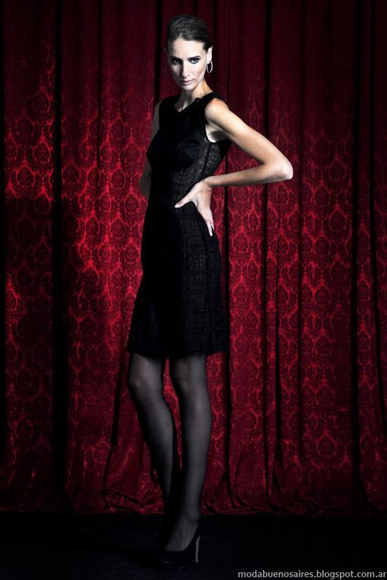 Solo Ivanka moda vestidos 2013 invierno moda