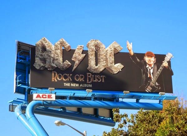 ACDC Rock or Bust album billboard