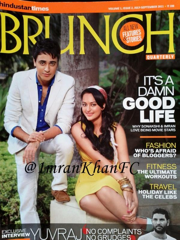 Sonakshi Sinha  - Sonakshi Sinha on HT Brunch Quarterly Magazine Cover