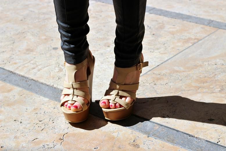 jumex, jumex wedge beige, jumex sandalen beige