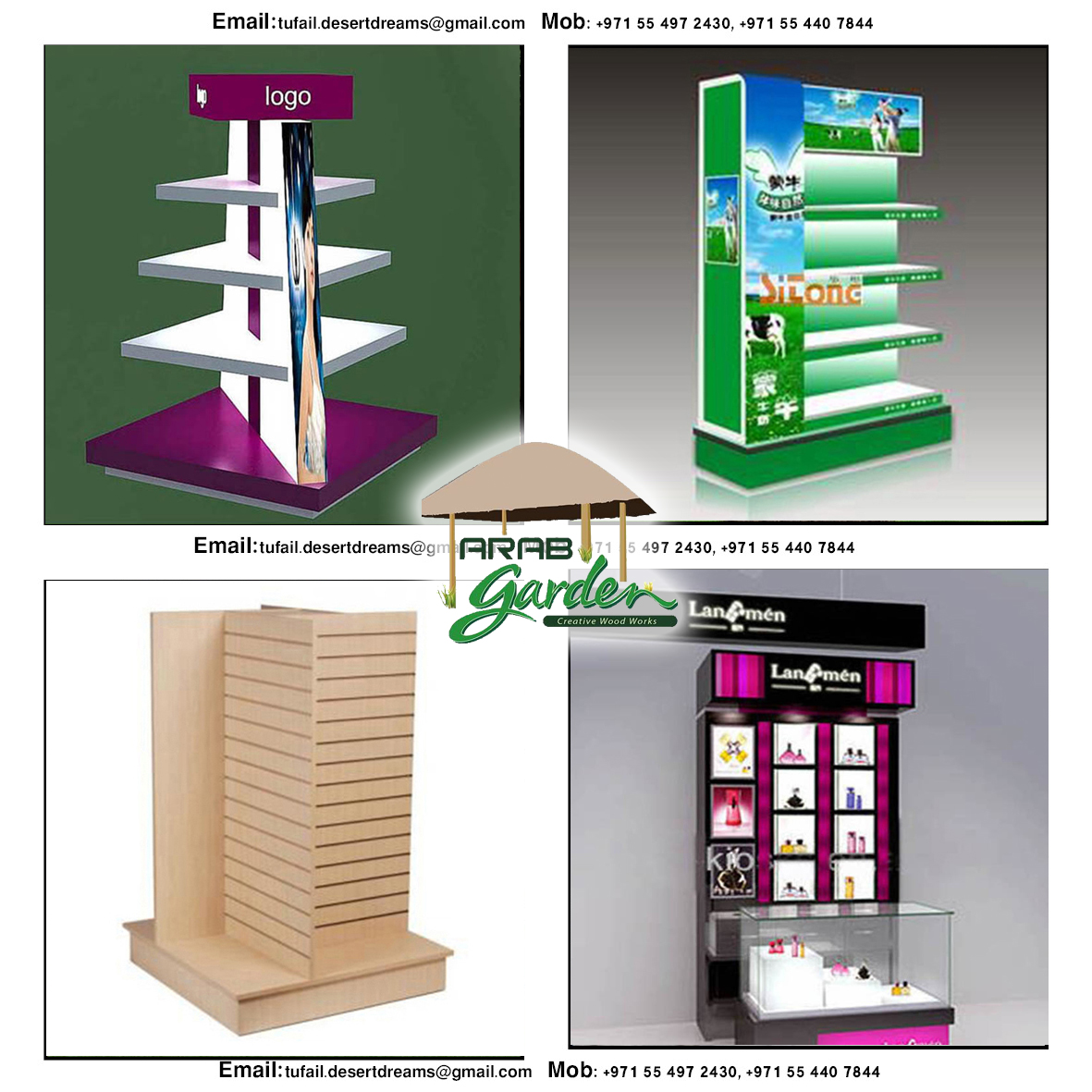 Exhibition Stand Storage : Creative display stands uae dubai wooden