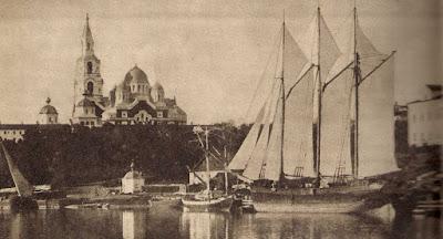 один из галеасов, построенный в 1885 году на верфи Impilahti (мастер Lindberg). Галеас назывался