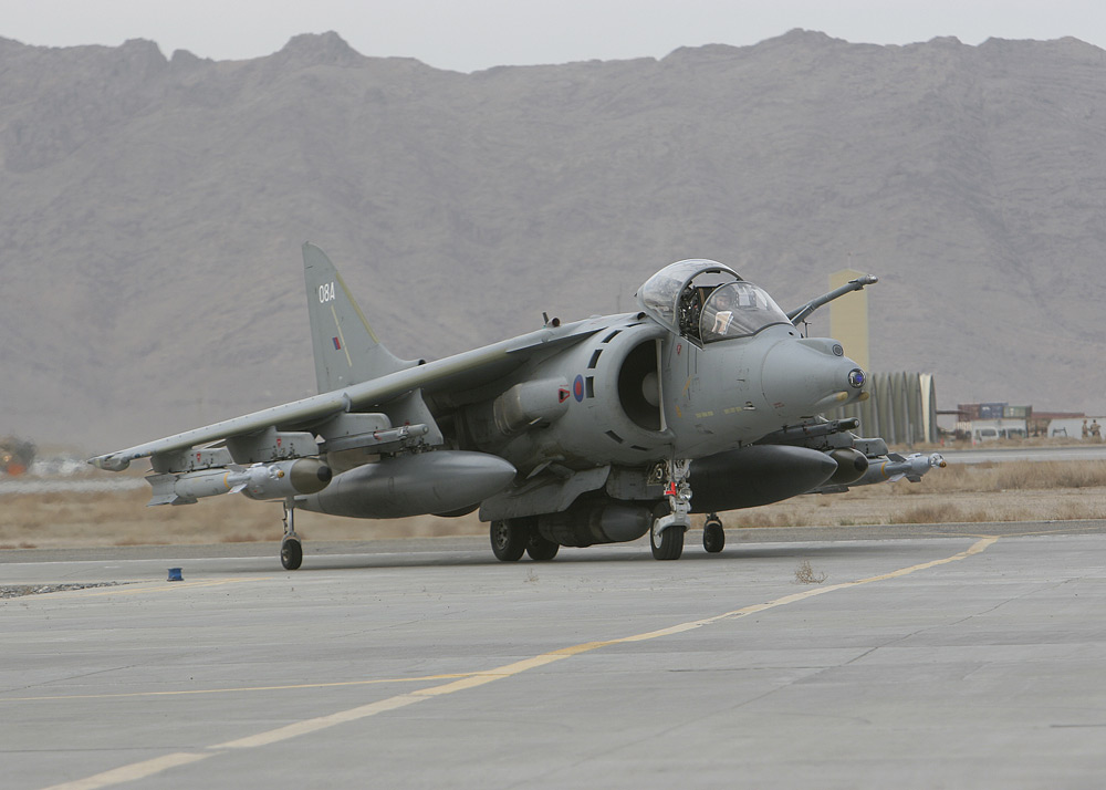 Grand Logistics: Harrier,Storm Shadow And Brimstone