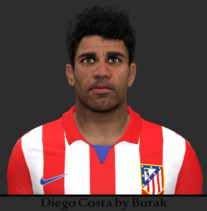 PES 2014 Diego Costa Face by Burak
