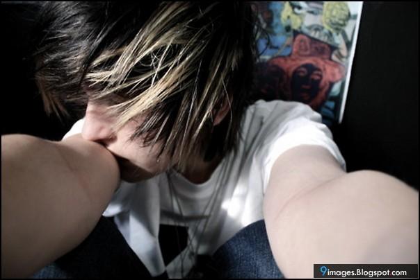 Sad, emo-boy, cute, alone, feelings