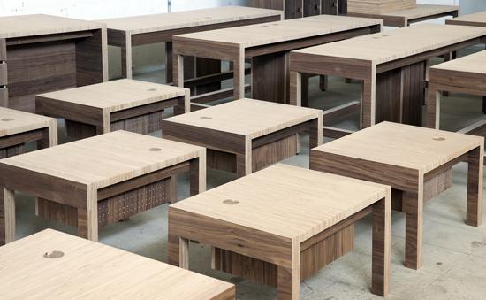Podio dise o de mobiliario para la cineteca nacional for Mobiliario de diseno