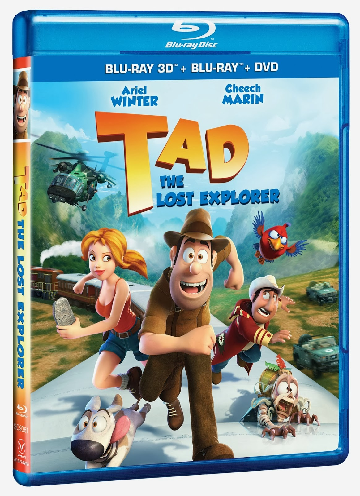 Tad the Lost Explorer DVD Cover Art