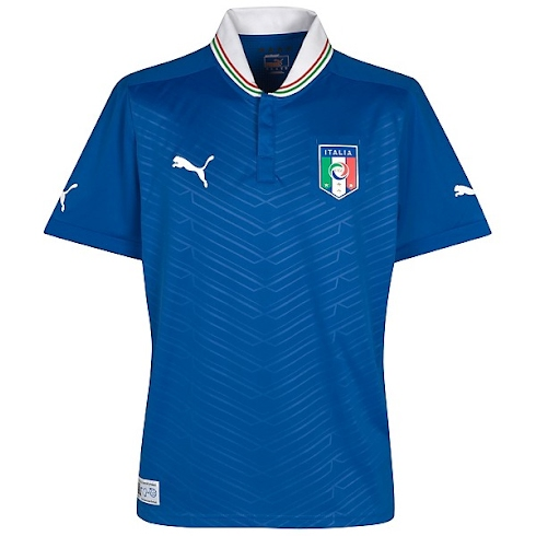 Primera equipación / uniforme / camiseta seleccion italiana italia ...