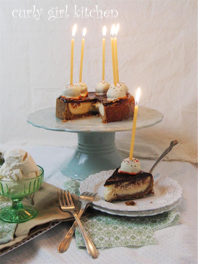 Orange Blossom Honey Cheesecake and Ice Cream, with Grand Marnier ...