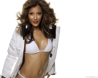 Kelly Hu HD Wallpaper-1440x1280