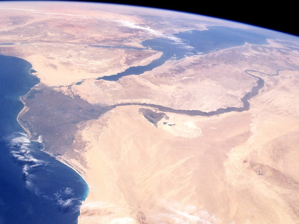 World View Nile River, Delta, Red Sea And Sinai Peninsula || Top Wallpapers Download .blogspot.com