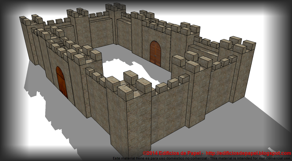 Medieval Wall for your wargame terrain