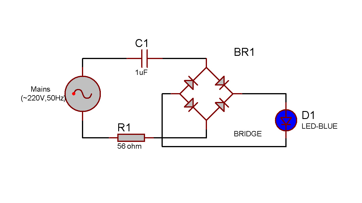 bridge rectifier ac to dc