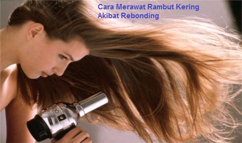 Tips Cara Merawat Rambut Kering Akibat Rebonding