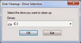 cleanmgr semua drive