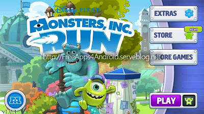 Monsters, Inc. Run Free Apps 4 Android