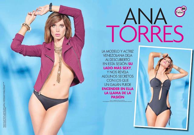 Ana Torres desnuda