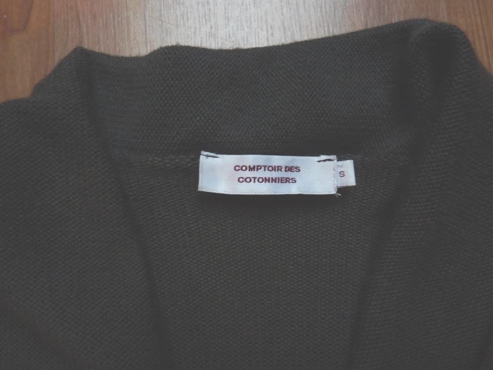 Le vide dressing de copp lia gilet asym trique comptoir - Vide dressing comptoir des cotonniers ...
