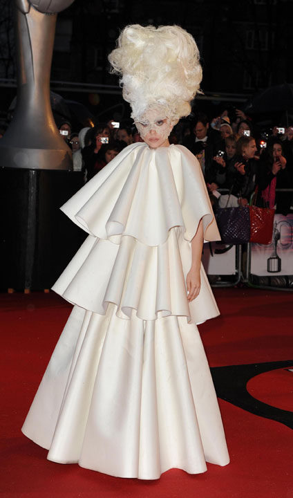 20 Of Lady Gagas Craziest Outfits - Page 10 of 10