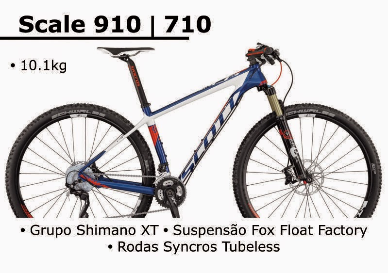 Bicicleta Scott Scale 910 / 710 2015