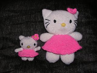 Patron Hello Kitty Grande Amigurumi : Marinasognaecrea: Amigurumi Hello Kitty