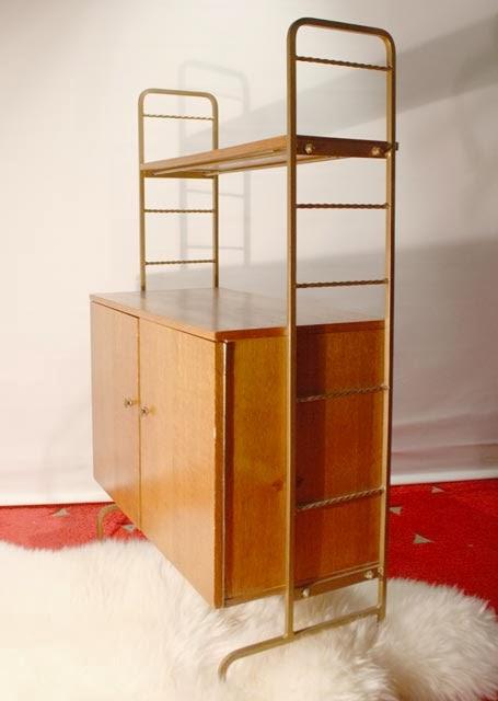 Chicbaazar objets vintage 50 60 70 petit meuble - Miroir chaty vallauris prix ...