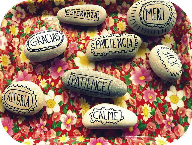 Creatividas e ideas para todo como pintar piedras for Ideas para pintar piedras