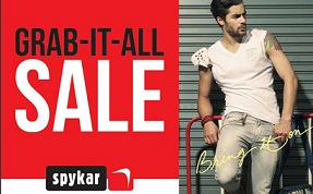 Spykar Men's Casual Clothing: Min 60% Off – Upto 70% Off @ Snapdeal