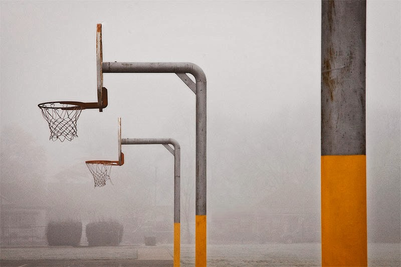 Baskets in Fog