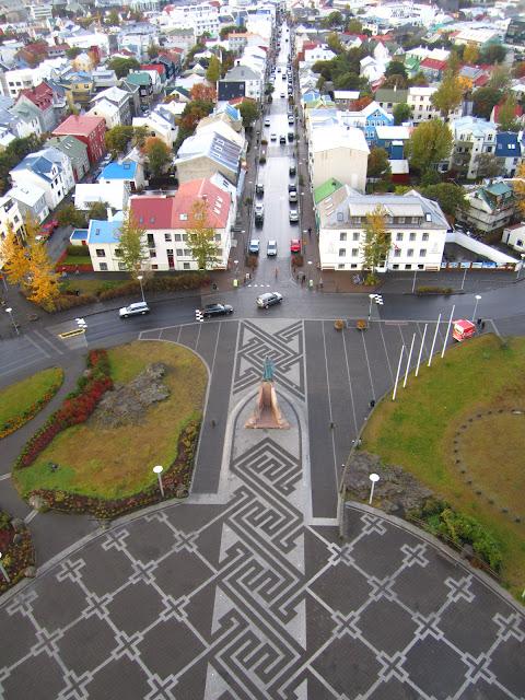 View of Reykjavik, Iceland.
