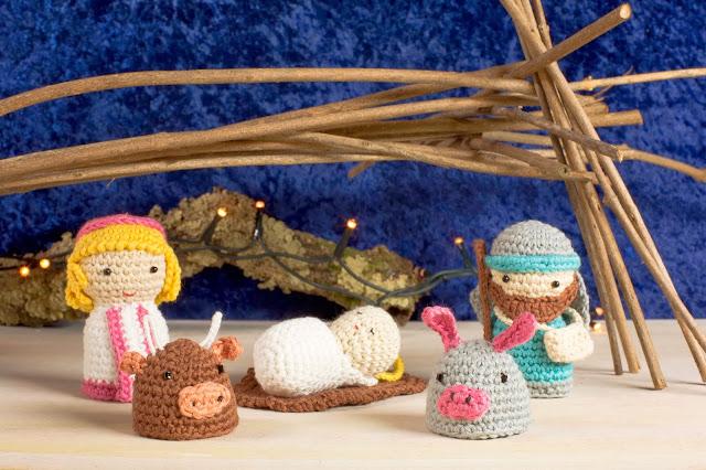 Comprar Kit Amigurumi Dmc : O Blog da DMC: Novo kit amigurumi de Natal: Presepio