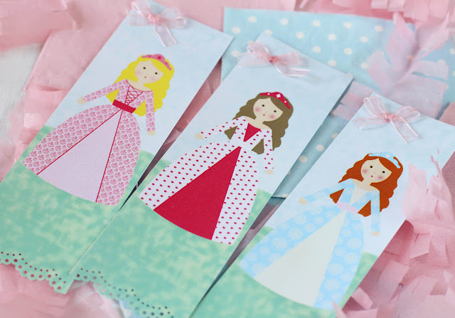 Marcapáginas de princesas