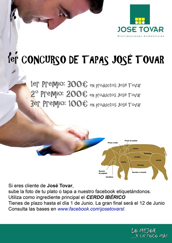 I Concurso de Tapas José Tovar.
