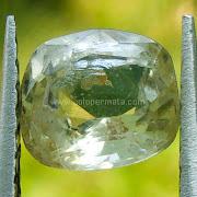 Batu Permata White Sapphire - SP821