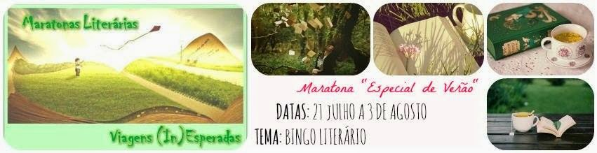 Maratona Viagens (In)Esperadas #7 - Especial Verão - Bingo Literário