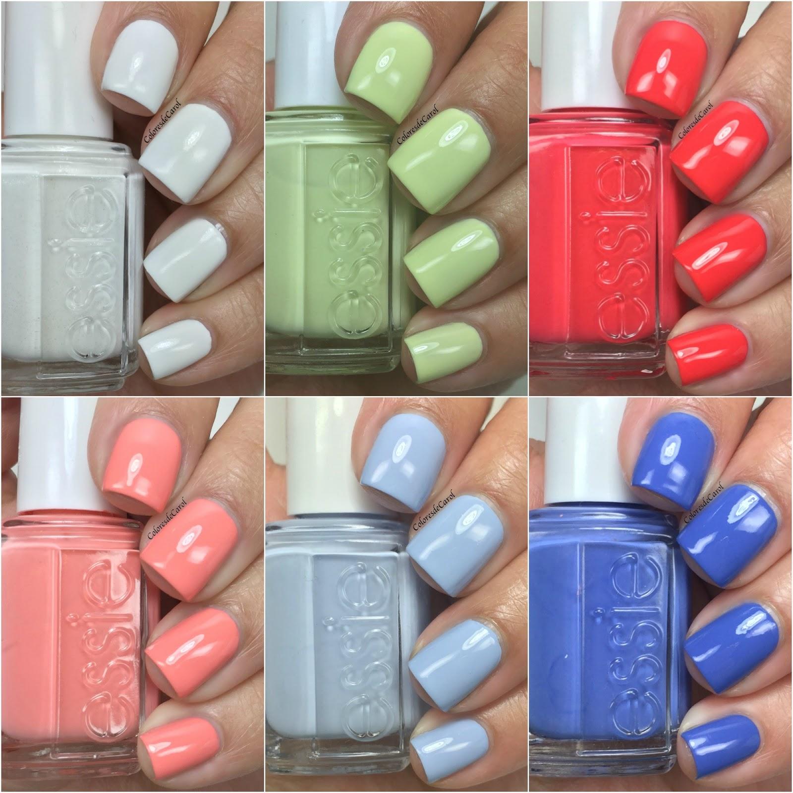 Colores de Carol: Essie Peach Side Babe, Summer 2015