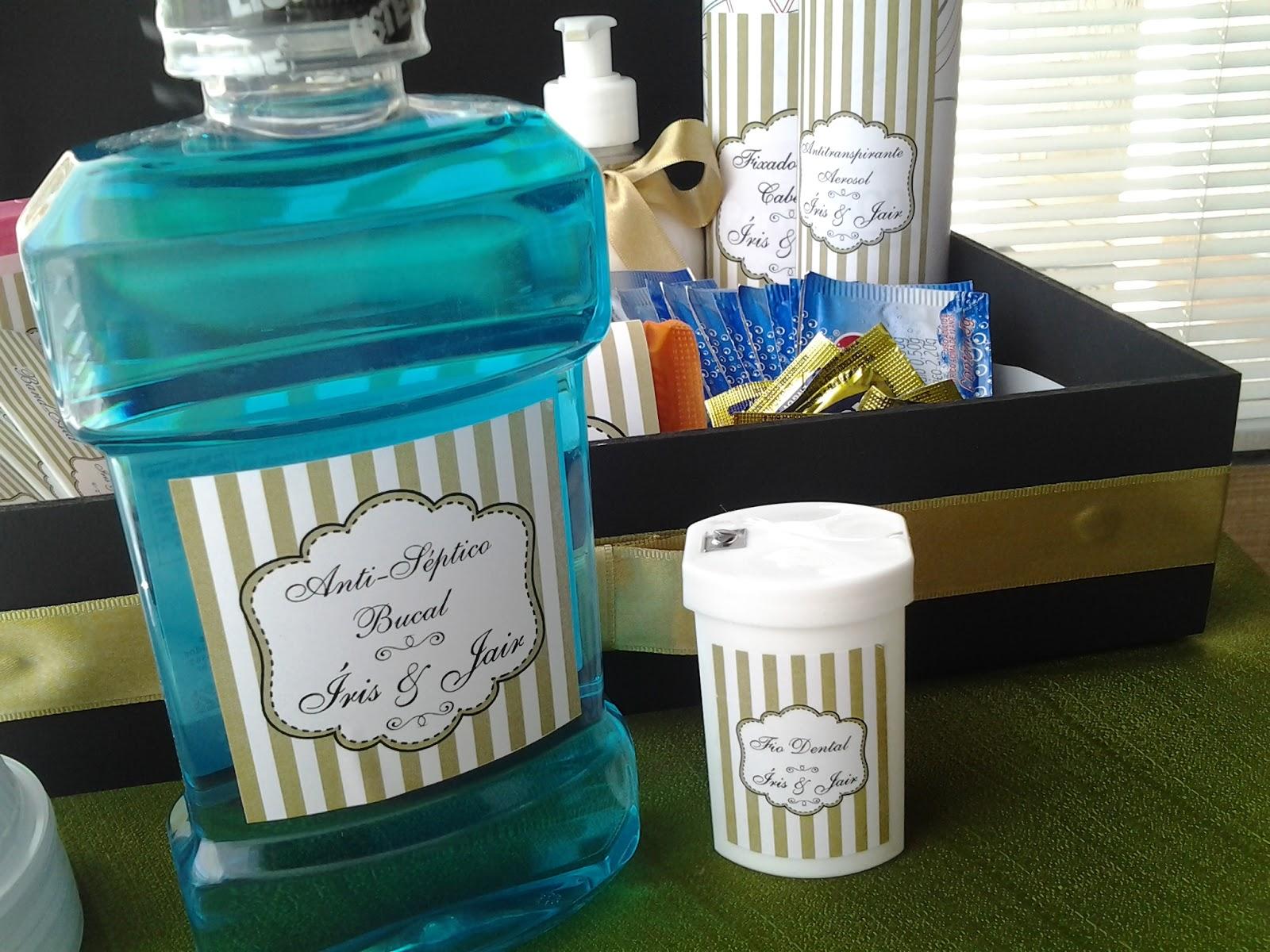 Imagens de #1493B6  Comemorações Personalizadas: Kit de Banheiro para festa de casamento 1600x1200 px 2806 Box Banheiro Marilia