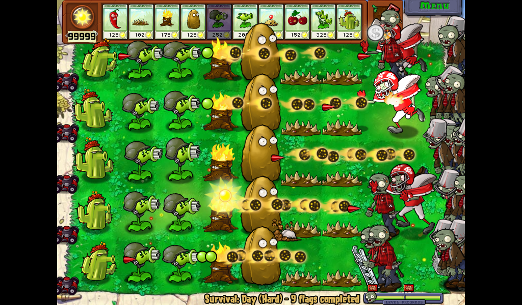 play plants vs zombies online full version