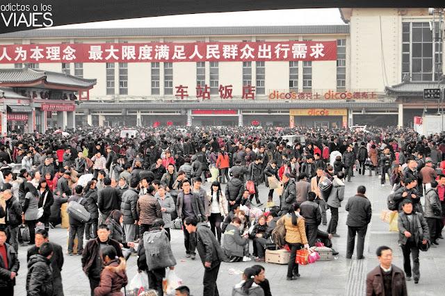 estación de tren de xian