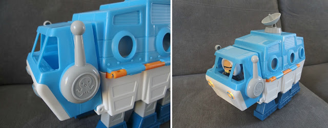 Octonauts 2015, Gup I transforming Polar Vehicle, vehicle toy