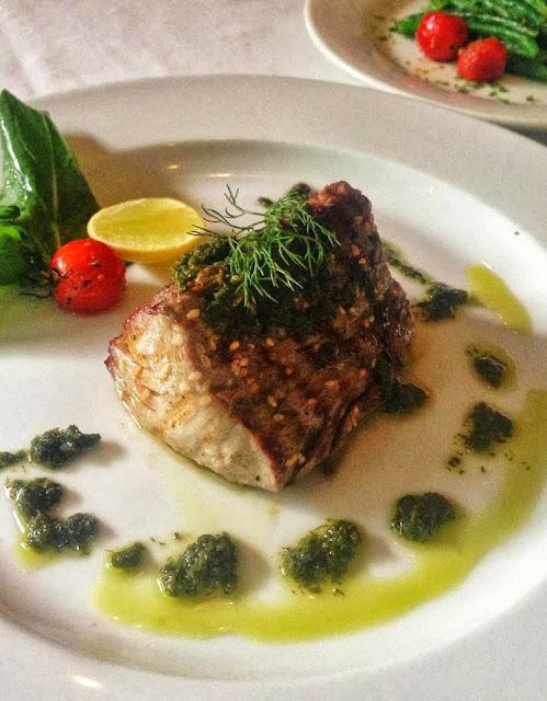 Best Karachi restaurants -  Cafe Flo - grilled fish