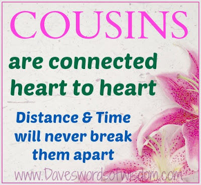 Top Cousins Quotes. QuotesGram Quotes About Cousin Sisters Love