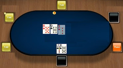 straight draw poker