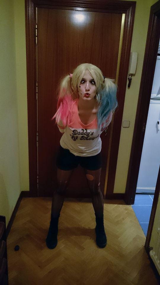 Ipraisemakeup disfraz harley quinn suicide squad costume - Disfraz joker casero ...